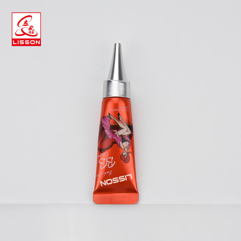 3ml 5ml Cosmetic Long Nozzle eye cream small sample tubepackaging