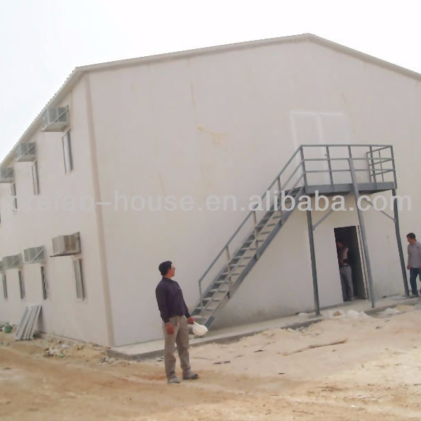 Prefabricated house for labor camp temporary building