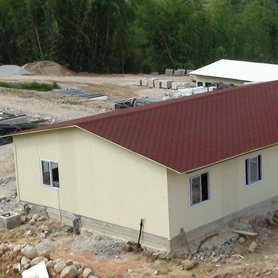 Steel Prefabricated Site Office Building