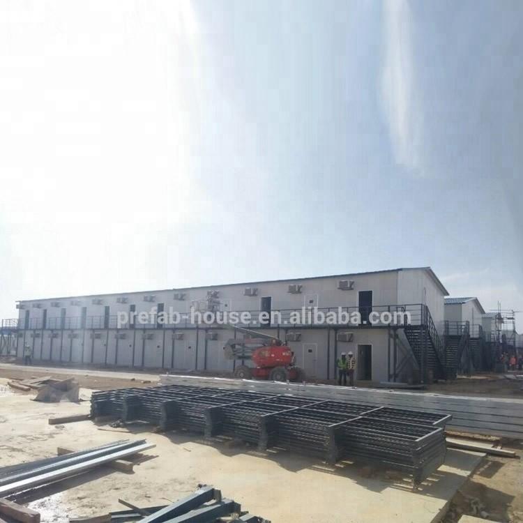 Doha Qatar Shahania Labor Camp with T modle prefabricated house solution
