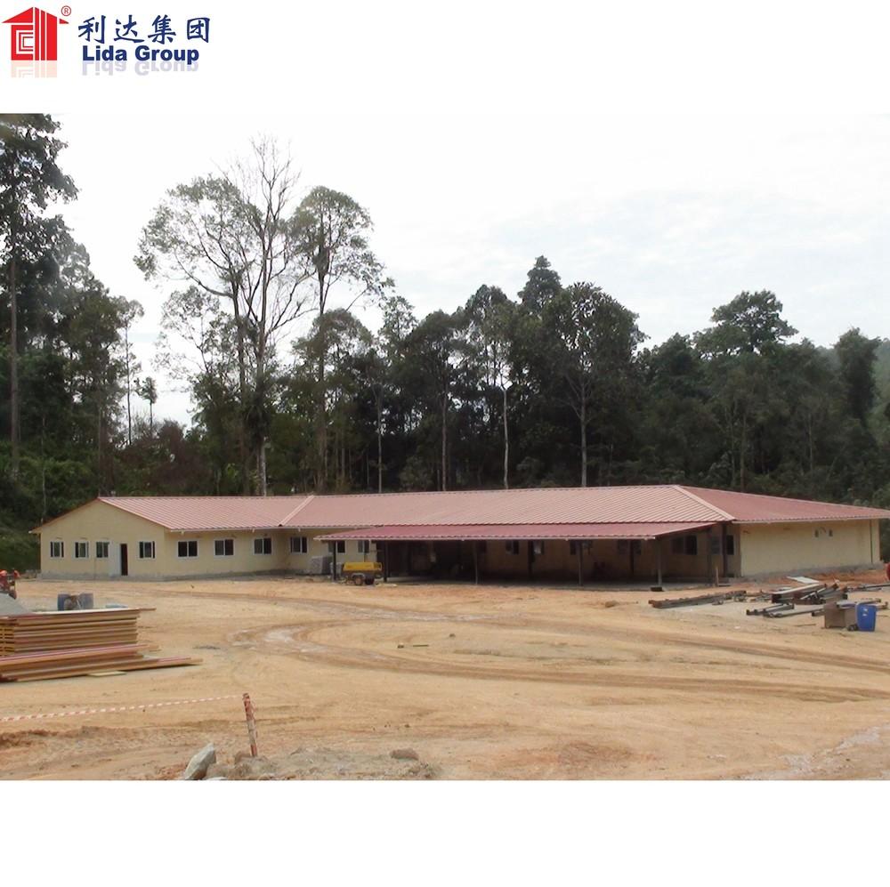 army barrack temporary Prefabricated House