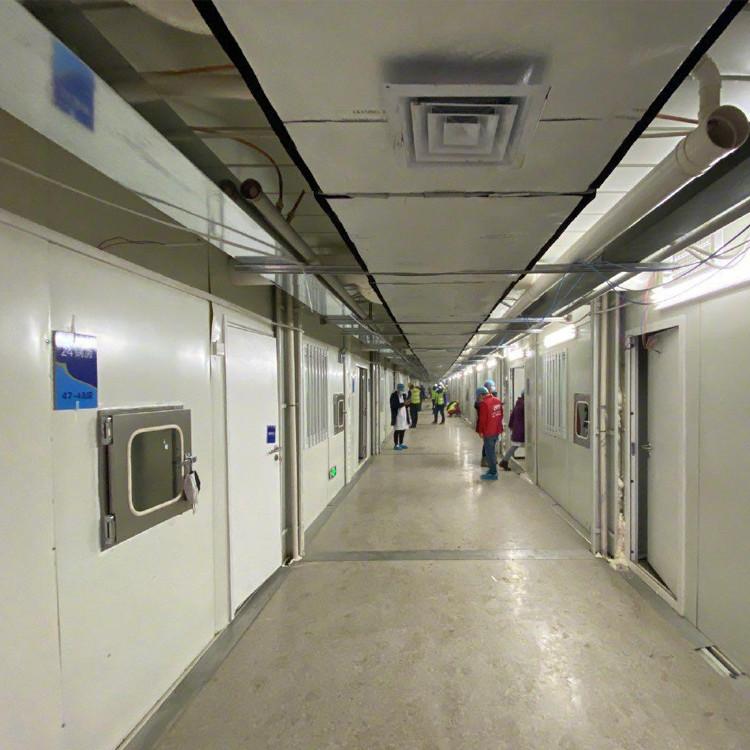 Modular hospital building Quick installation Prefabricated in workshop