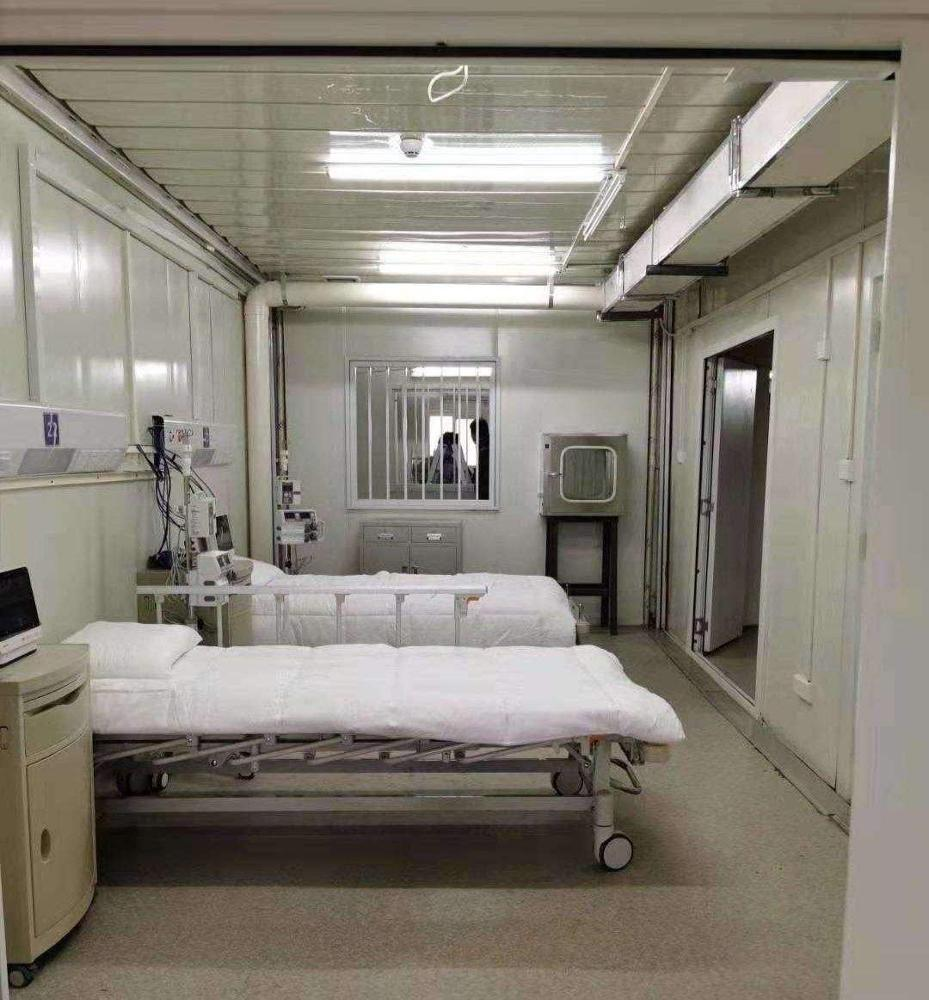 Quick assemble Prefabricated modular clinic build by container house&prefab house