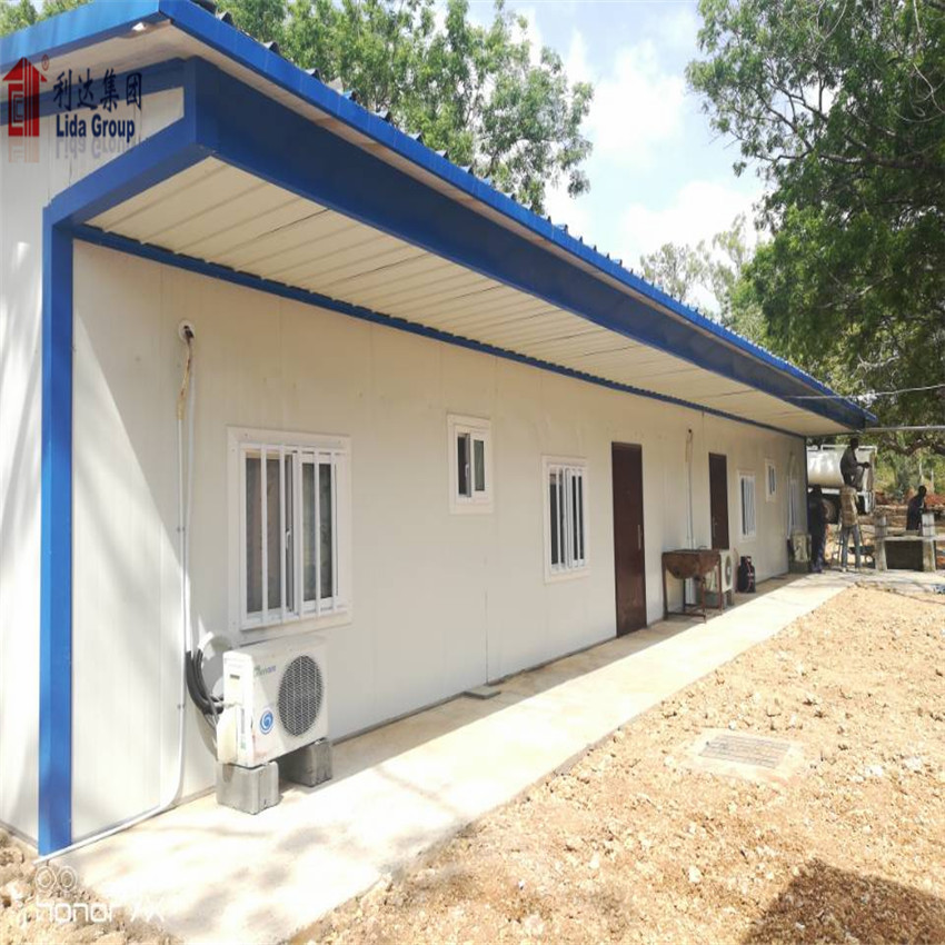 Light Steel Frame Building Low Cost Prefabricated House Light Steel Structure Villa Prefabricated Building