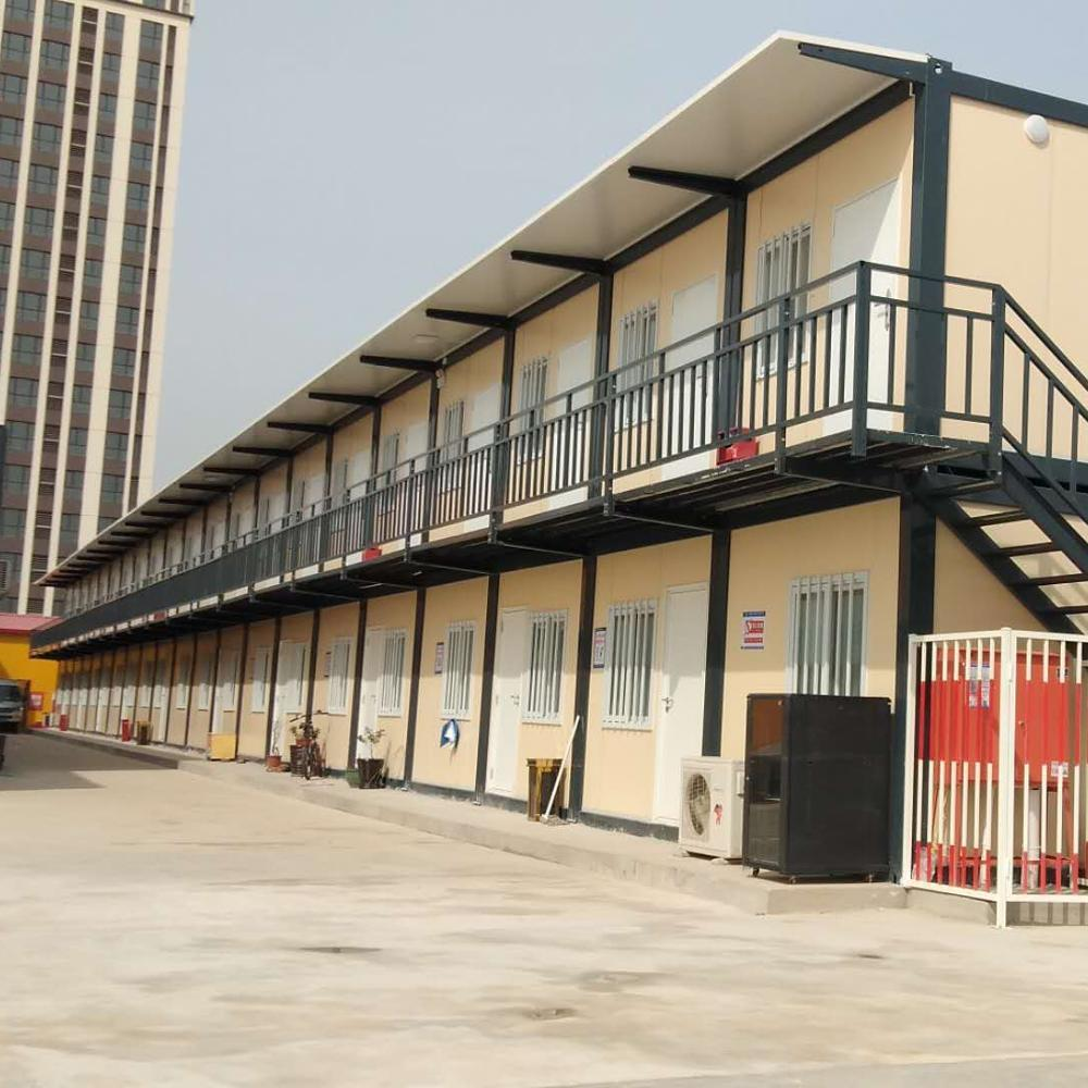 Quick installation Prefabricated modular hospital wards build by container house&prefab house with free design