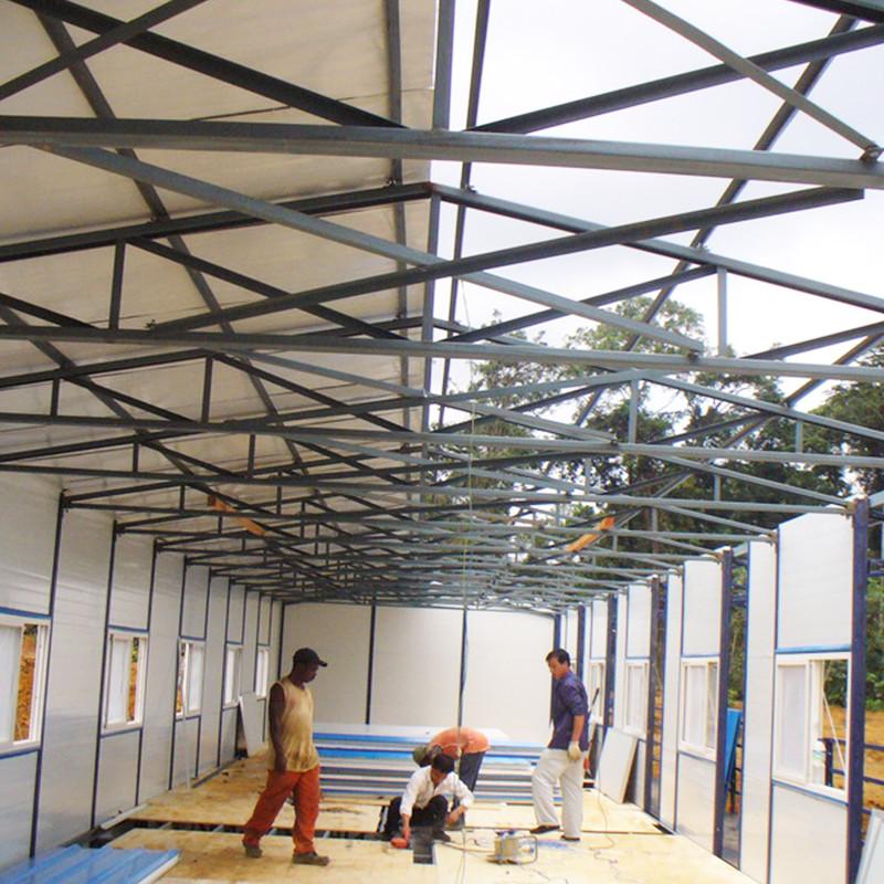 Easy Assemble&Disassemble Light Steel Prefabricated House For Sale