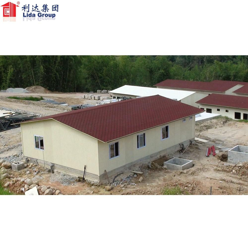 Nigeria oil and gas fieldlabor camp prefabricated house