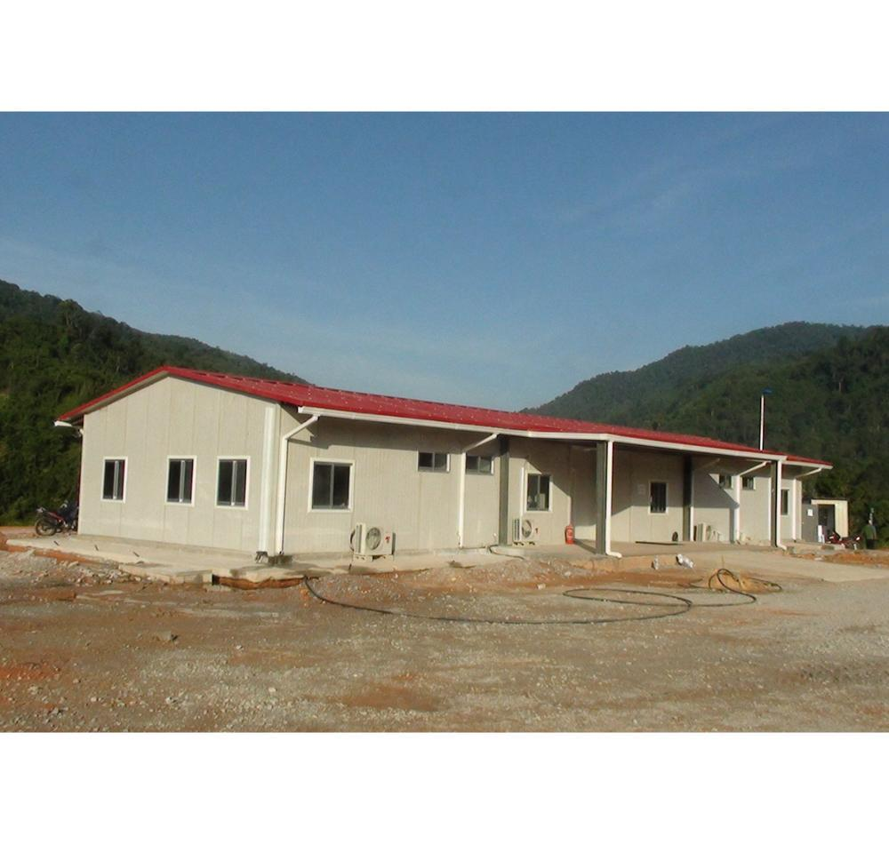 Gabon Construction site prefabricated house Staff accommodation building TCF camp modular house for construction oil & gas field