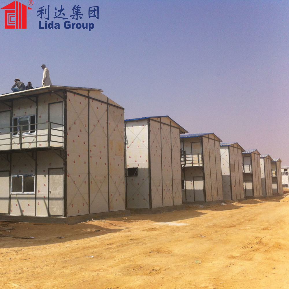 Construction site single or double floor labour accommodation camp