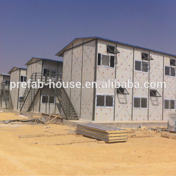 Oman double floor labor accommodation and labor camp/site office temporary facility