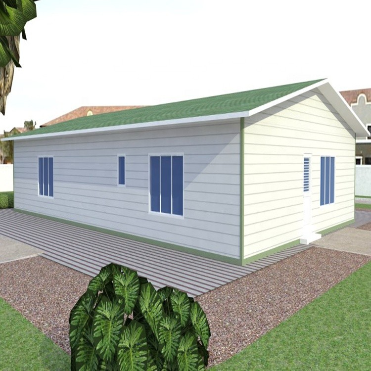 Low cost 72 sqm prefabricated home for Venezuela social house