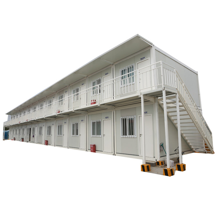 Modern cheap 50 sqmlight steel prefab houses fashionable temporary prefab house for living