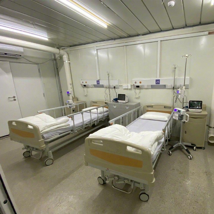 prefab hospital building container isolation ward