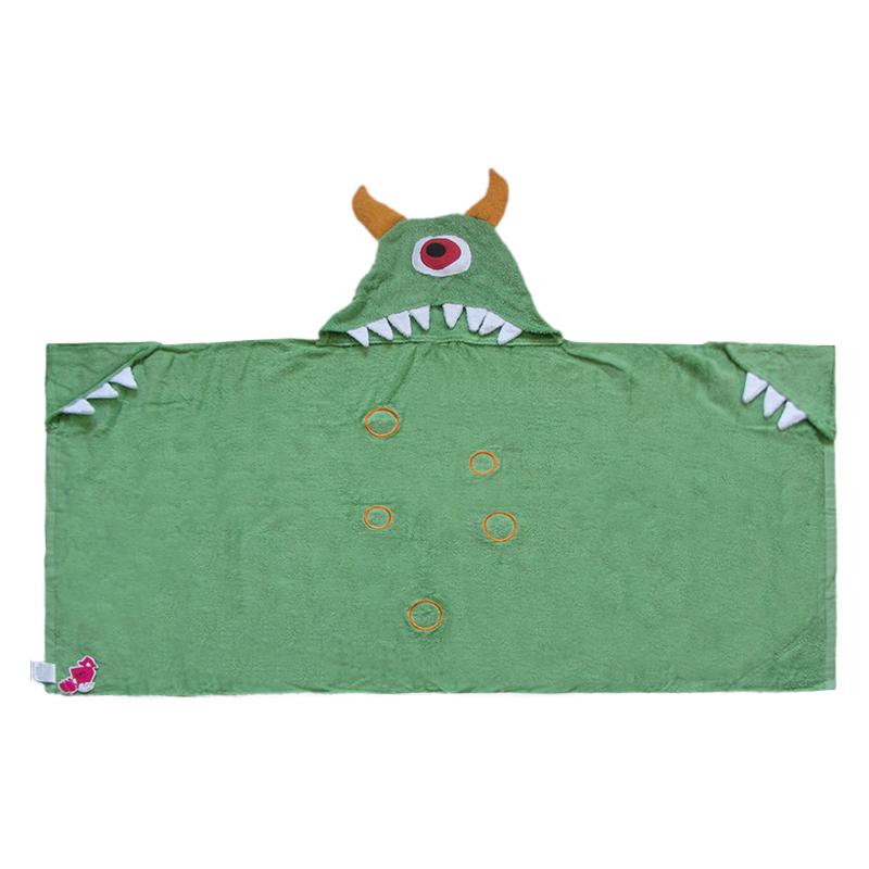 cotton fiber baby hooded animal towel gift for newborn