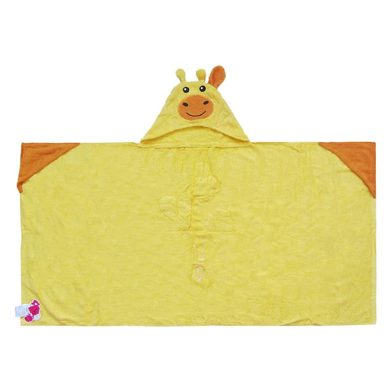 high quality custom100% organic cotton kids hooded baby towel gift for newborn