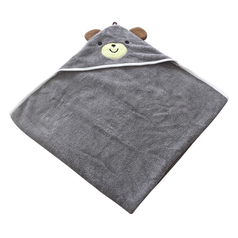 custom organic cotton hooded towel with ear baby towel with hood