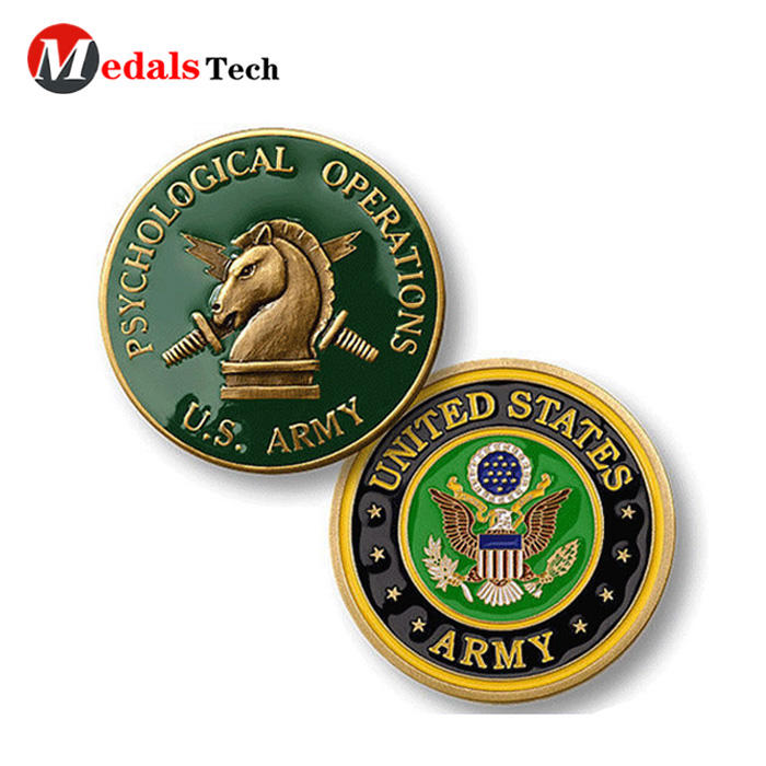 Die casting gold plated custom metalsouvenir gifts coin