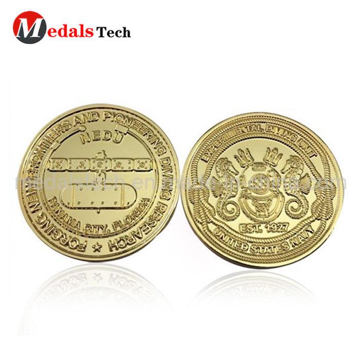 Cheap custom engrave logo ancient greek silver challenge coins
