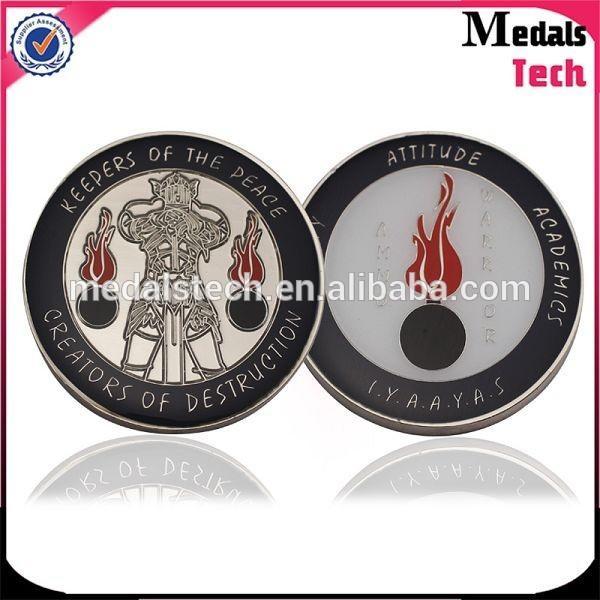 2019 new design soft enamel movie souvenir metal challenge commemorative coins tokens