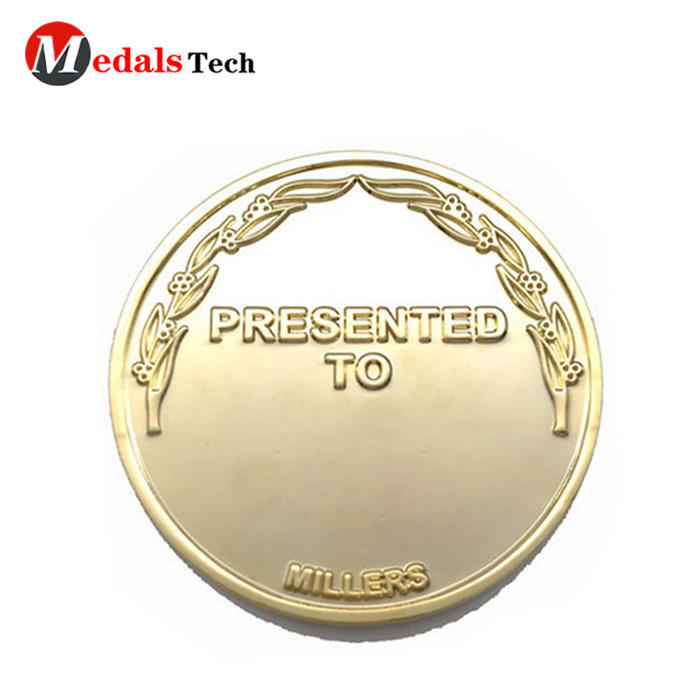 Wholesale cheap custom double sides gold islamic old coins