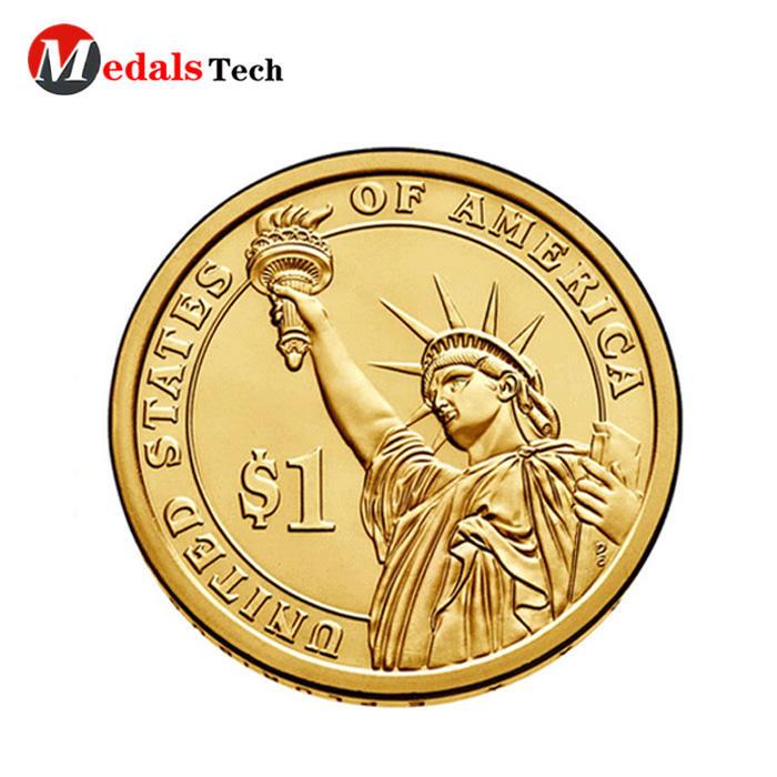 Cheap custom metal religious christian challenge coins