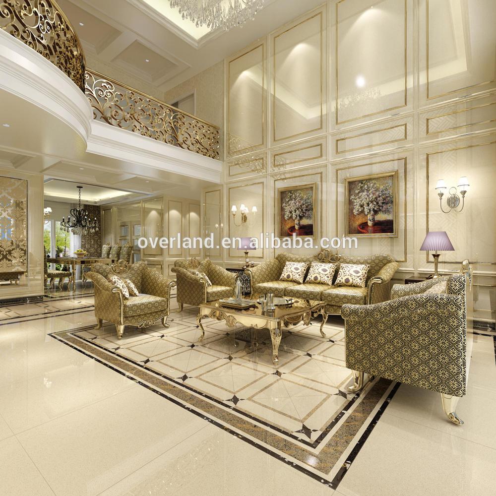 1200x2400 Beige crystal quartz stone tile