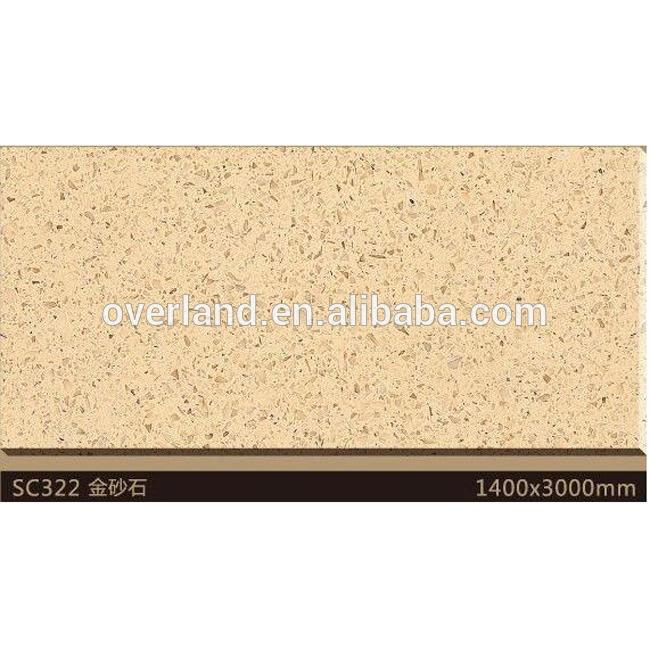 Sahara golden sand quartz stone