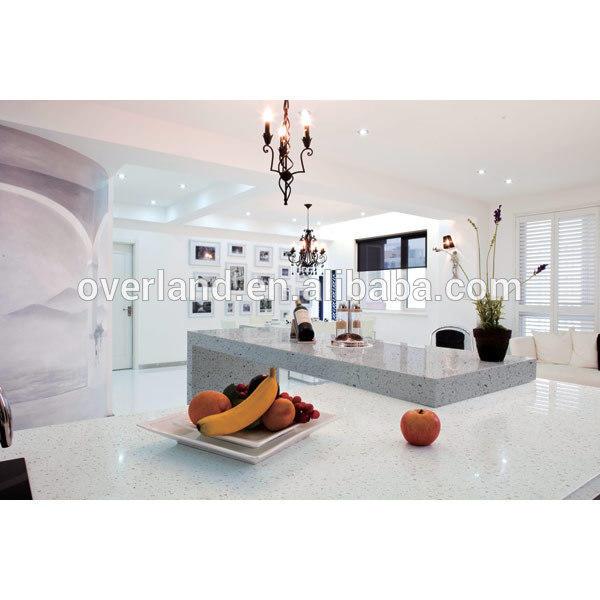 Hotel Project Artificial Stone Quartz Countertop