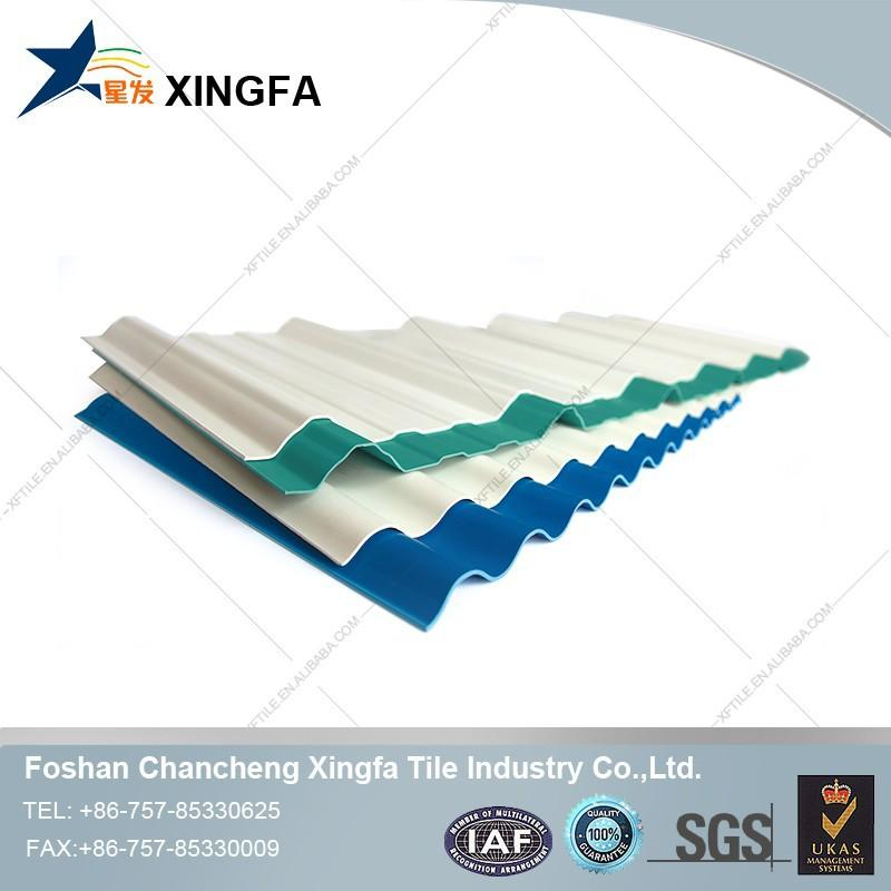 recycled waterproofing ASA plastic pvc cover roofing tile