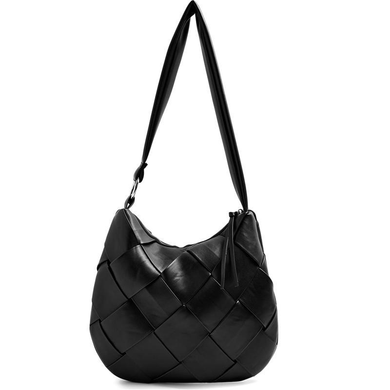 Large Women Bag Genuine Leather Handbags Big New Shoulder Bag for Women 2020 Luxury Ladies Handbag Black sac a main femme