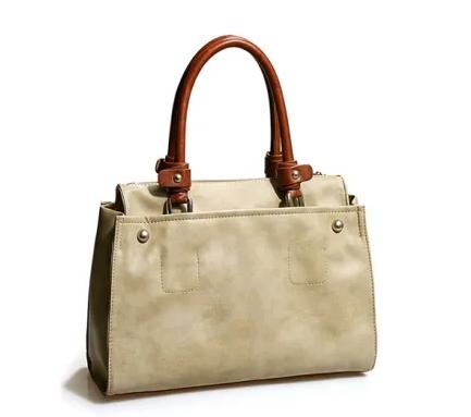 China Manufacturer Fashion Ladies Leather Handbags Simple Trendy Women Shoulder Bag