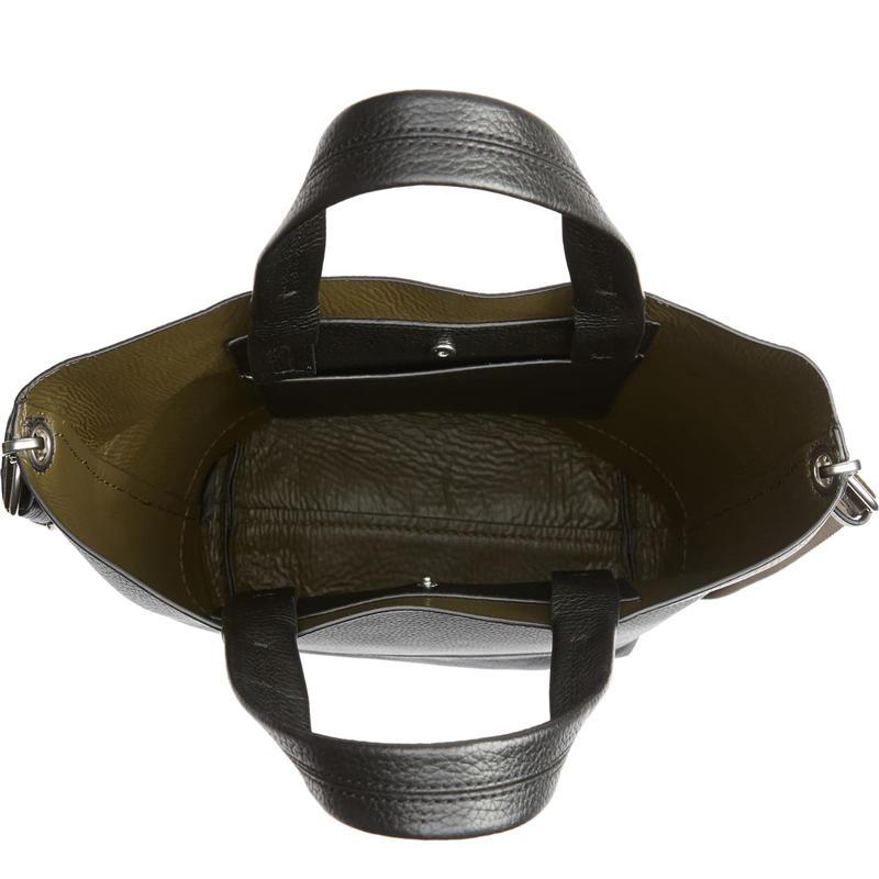 Designer style trendy all-match messenger handbag simple fashion bucket bag lady single shoulder big bag