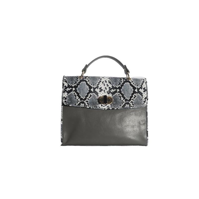 bolsas Retro Fashion Female Tote Bags Luxury small Handbags for Women own Designer Snake Patchwork PU Shoulder Messenger Bags
