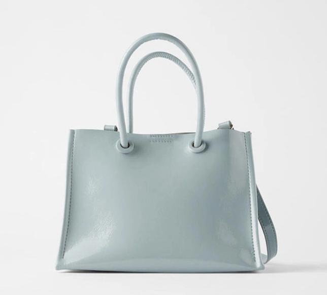 Fashion Woman New Handbag PU Leather Lady Handbag Different Custom Colors