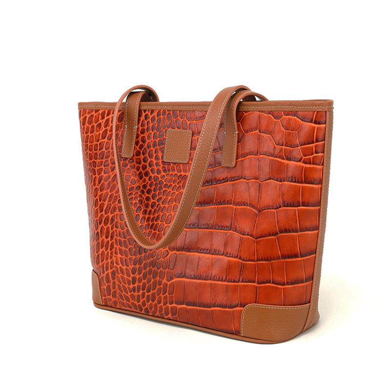 Luxury Brand Tote Bag Leather Genuine Cow Leather Woman Bags High Capacity Fashion Tote Handbags for Women 2020