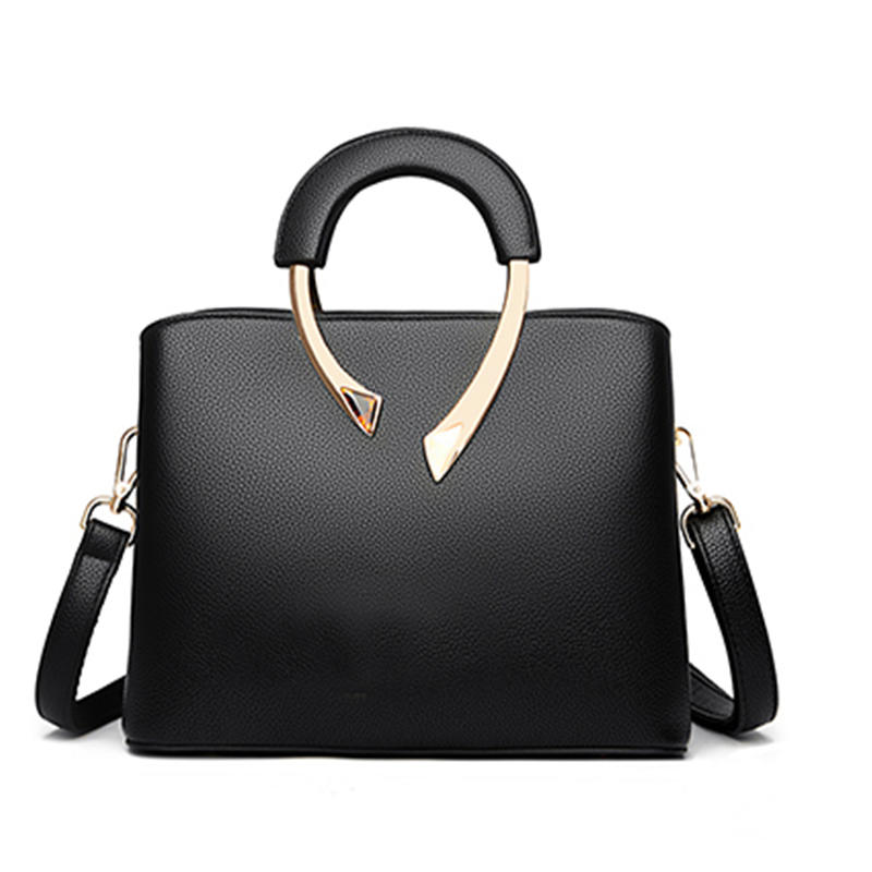 Pu Leather Casual Crossbody Bags for Women 2020 New Luxury Handbags Lady Top-Handle Bag High Quality Shoulder Bag Designer Totes
