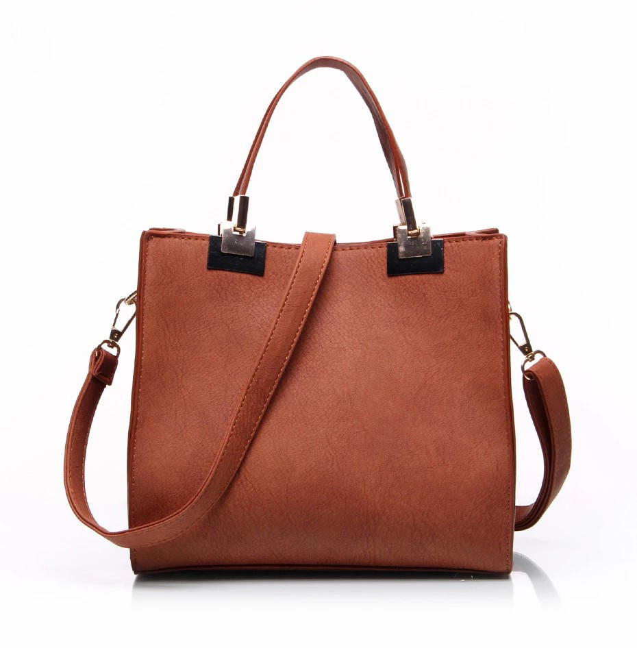 High Quality Women Ladies luxury handbag Simple Bucket Shoulder Sac tote bags Short Hand square Casual girls purses and handbags
