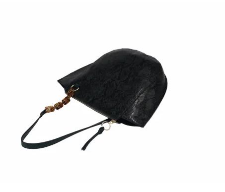 Ladies Handbags Fashion Saddle Style Handbag Leather Shoulder Bags With Chain Handle