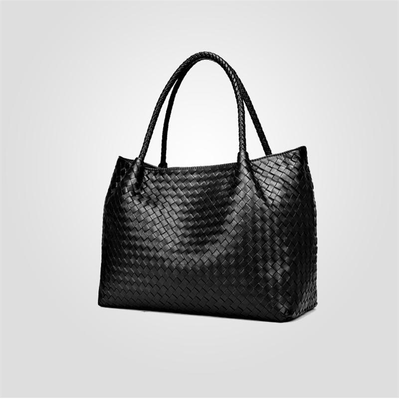 Luxury Women Sheepskin Genuine Leather Handbags 2020 Fashion High Quality Large Capacity Designer Lady Top-Handle Bags