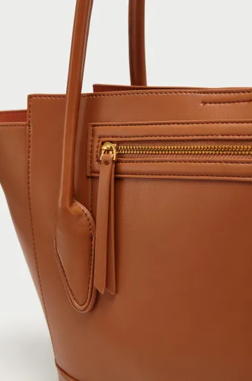 China Factory Crossbody Fashion Ladies Handbags PU Leather Women Tote Bag