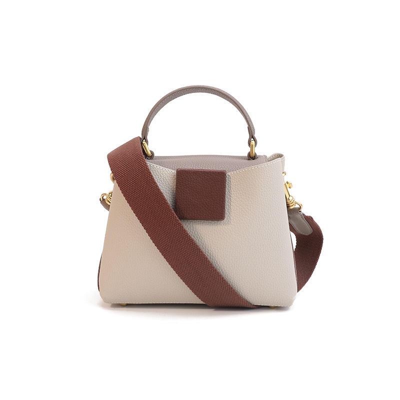 2020 New FashionBucket Bag Woman Leather Shoulder Handbag