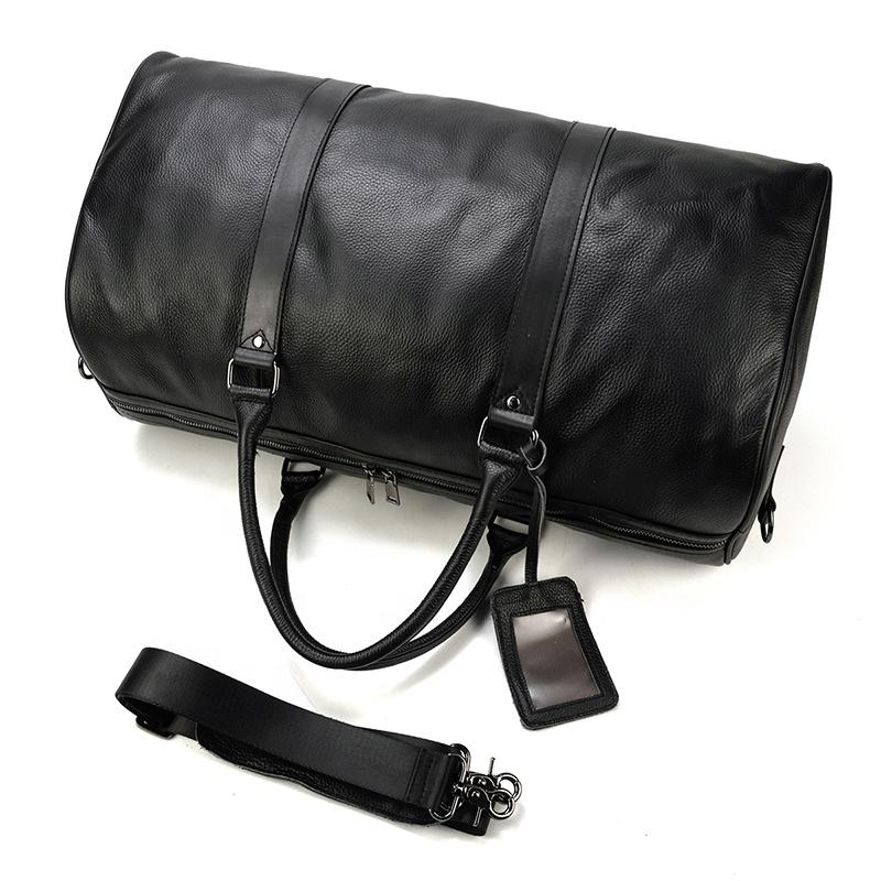 High quality anti theft overnight travelhand luggage and sport bag with interior compartment