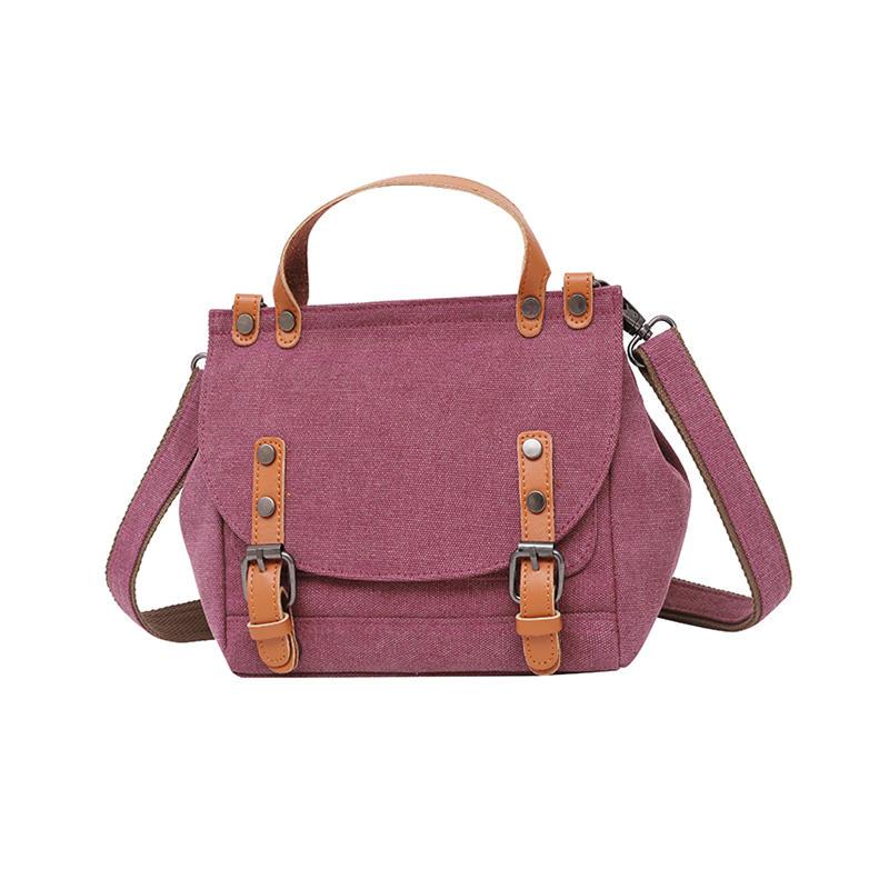 Canvas Hobos Bag Small Women Handbags Female Designer Brand Purse Shoulder Bags for Travel Weekend Outdoor Feminine Bolsas