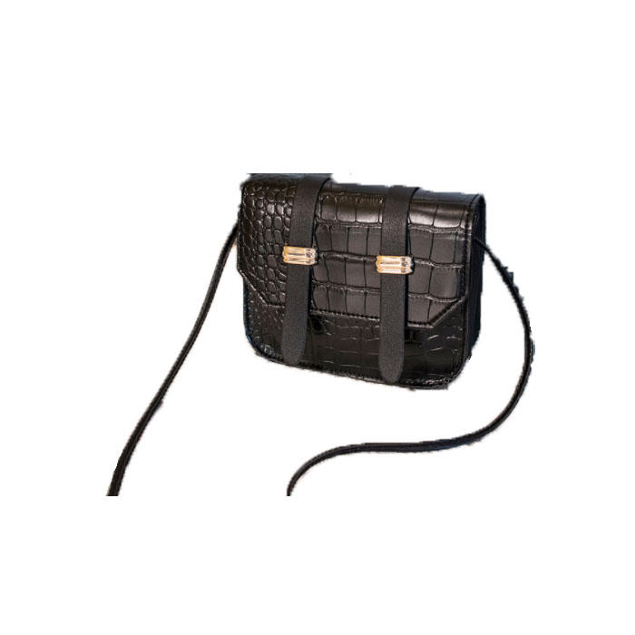 22020 Fashion Trend Women Alligator Grain Shoulder Bag Mini PU Cross body Adjustable Magnetic Buckle Cellphone Handbags Purse