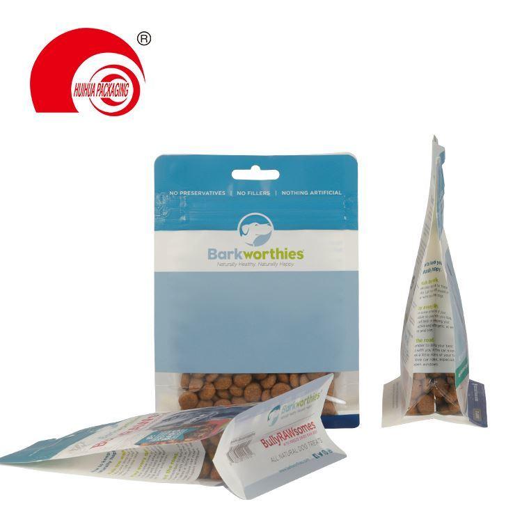 product-Custom Side Gusset Top Bird Rabbit Fish Plastic Cat Pet Dog Food Packaging Bag With Resealab-1