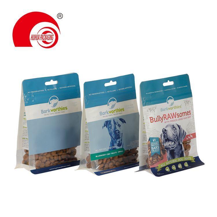 product-Huihua-Custom Side Gusset Top Bird Rabbit Fish Plastic Cat Pet Dog Food Packaging Bag With R