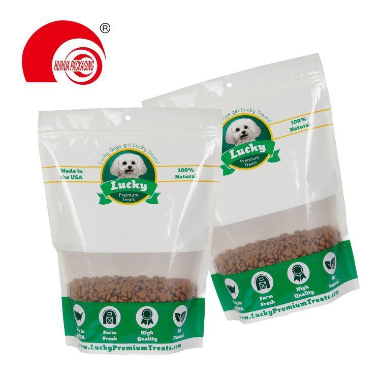 New design Large custom printed side gusseted plastic pet food bag cat food packaging bag
