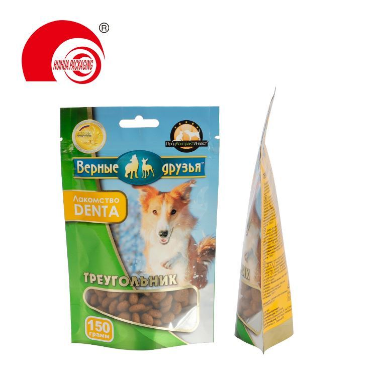 Custom size food grade snack pet + pe compound plastic bag snack packaging bag of any shape