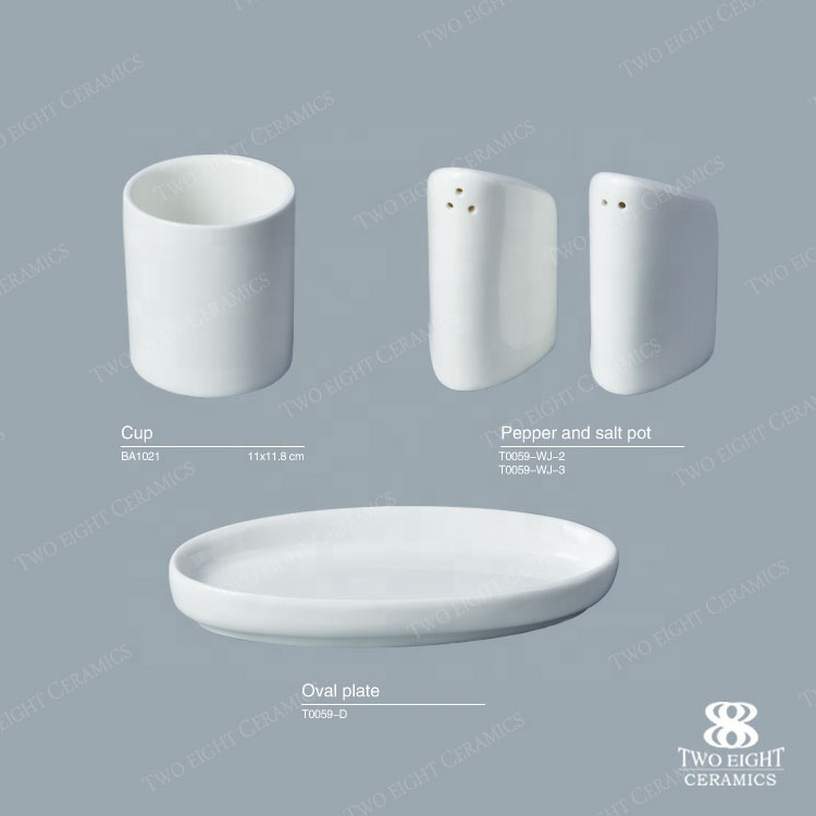 2017 New Design Uesd Restaurant Dinnerware, Salt And Pepper Shakers Set, Salt And Pepper Shakers For Banquet/