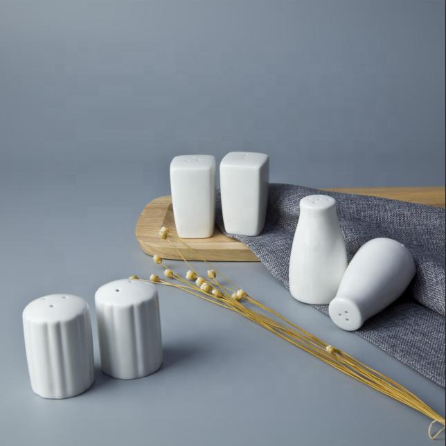 Ceramic Tableware Fine China Porcelain Salt & Pepper Shaker, Salt And Pepper Shakers For Banquet*